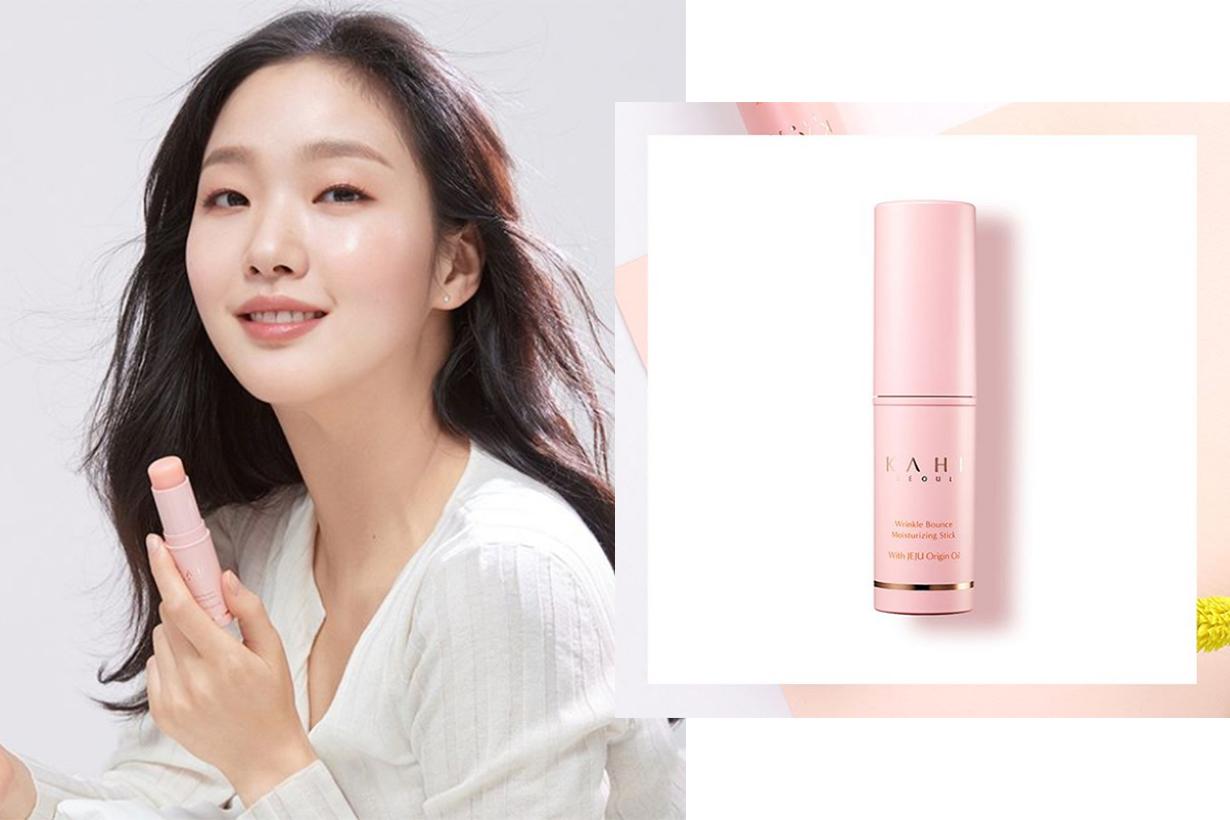 The King: Eternal Monarch Kim Go Eun Netflix SBS Korean Drama Lee Min Ho Kahi Seoul Moisturizing Stick with Jeju Oil Celebrities Skincare Kim Go Eun Multi Balm