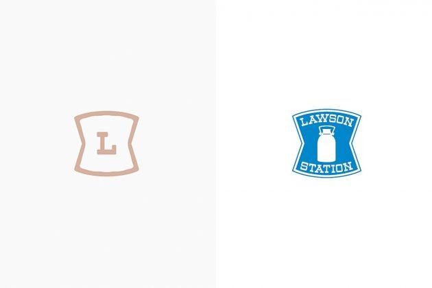 nendo lawson japan new branding logo package