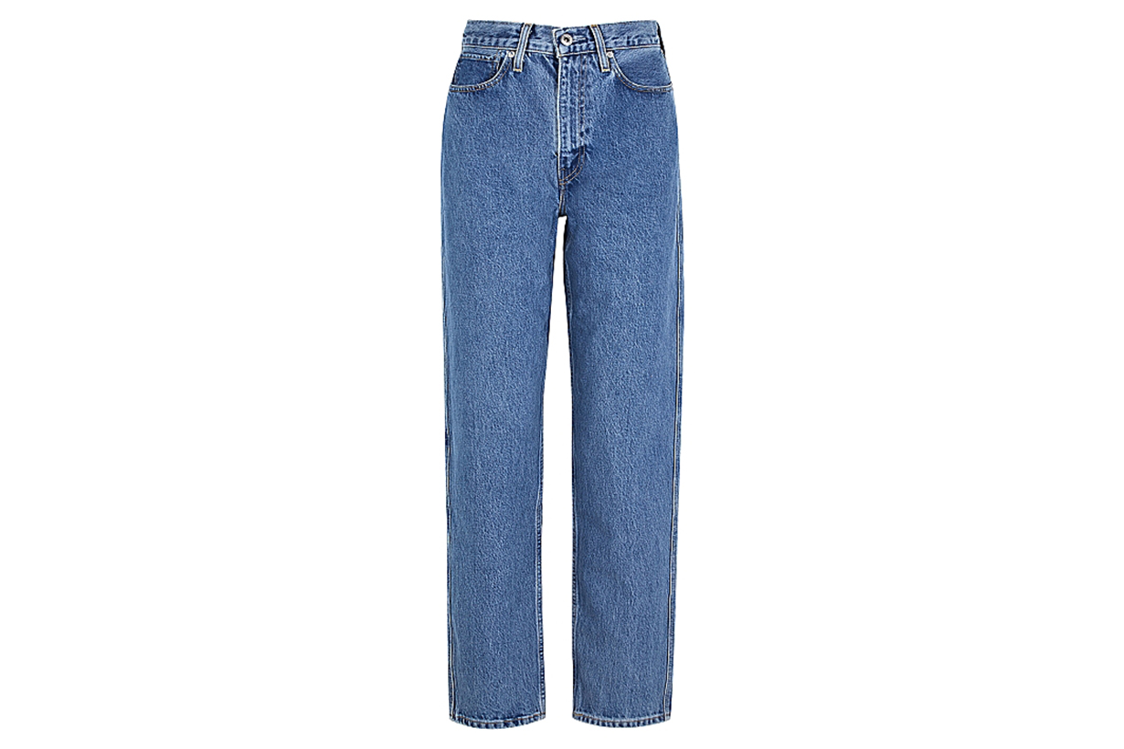 LEVI'S Column blue tapered-leg jeans