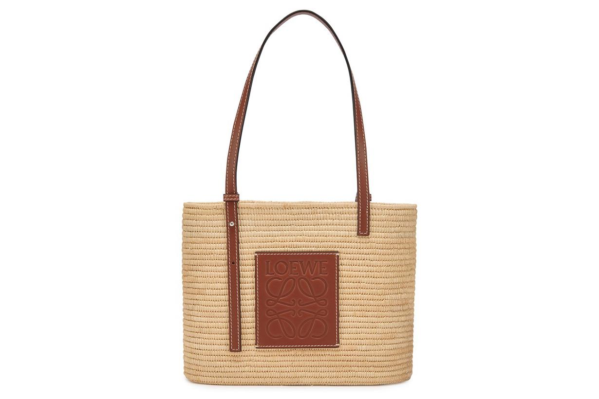 LOEWE Square Basket small bag