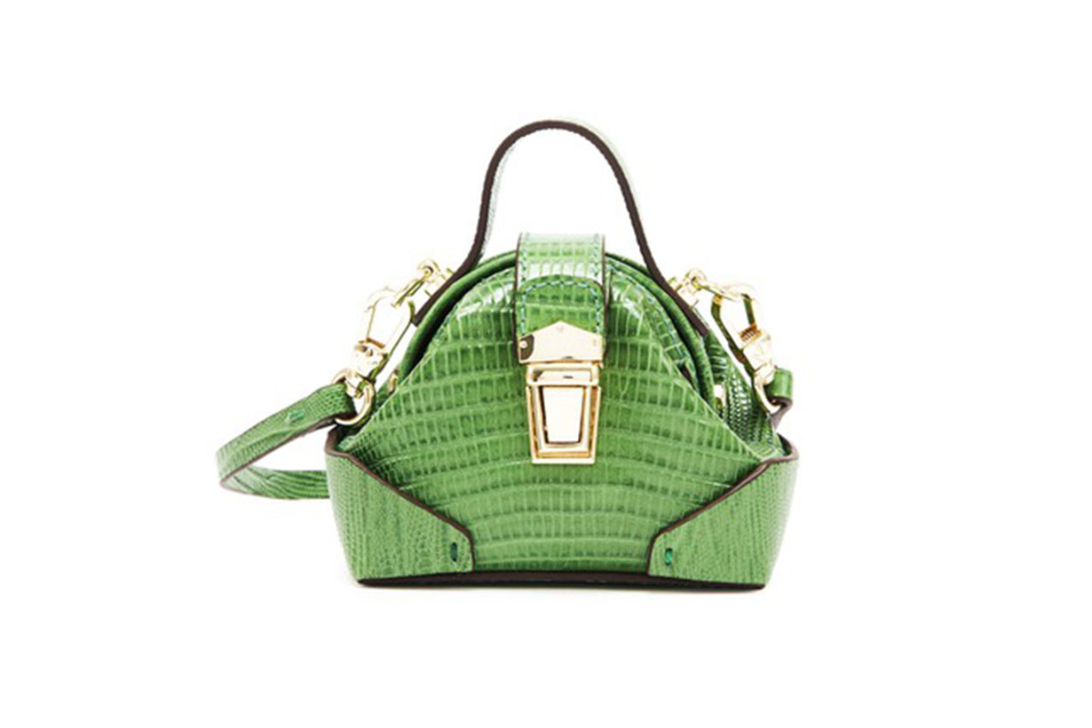 MANU ATELIER Lizard crossbody bag