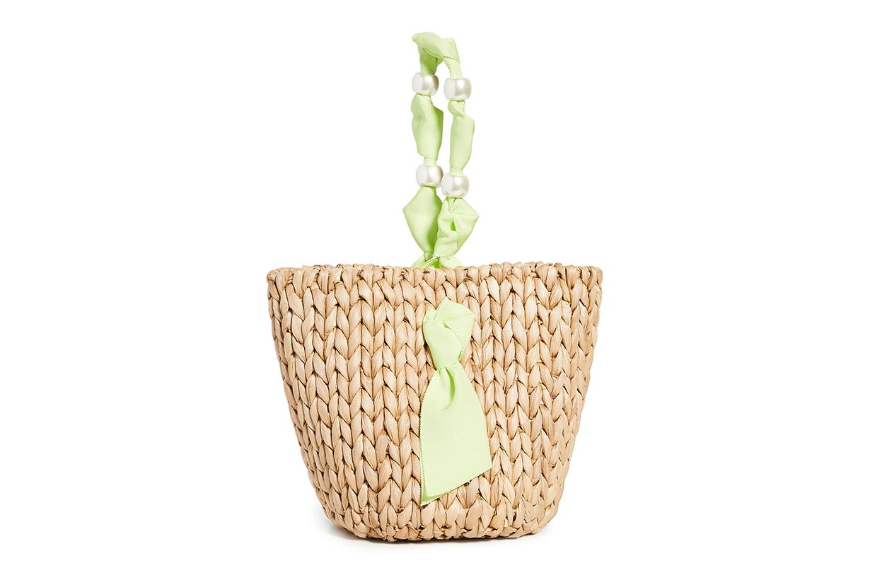 PAMELA MUNSON Petite Isla Bahia Basket Bag