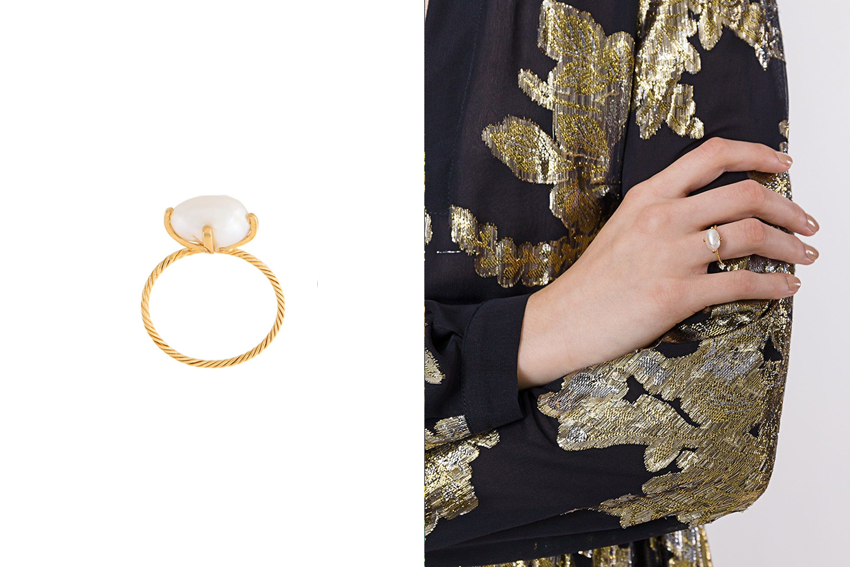 pearl ring Simone Rocha Chloé TOMWOOD Accessories
