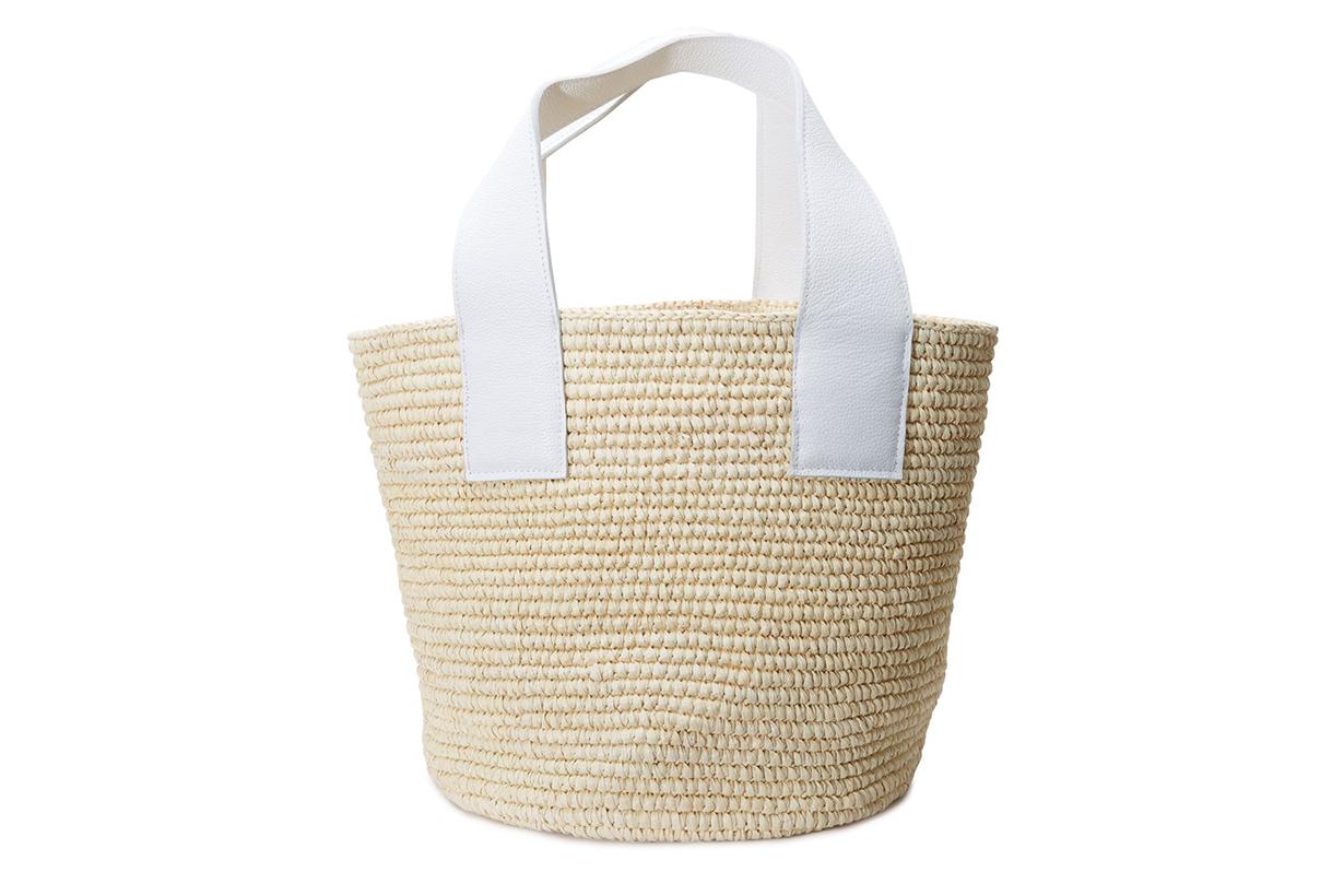 SENSI STUDIO Large straw bag
