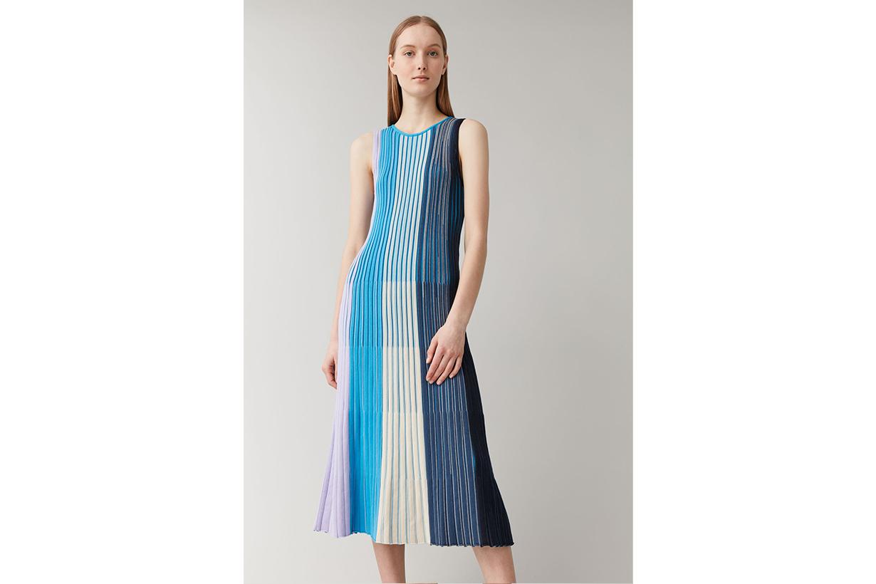 SLEEVELESS ORGANIC COTTON DRESS