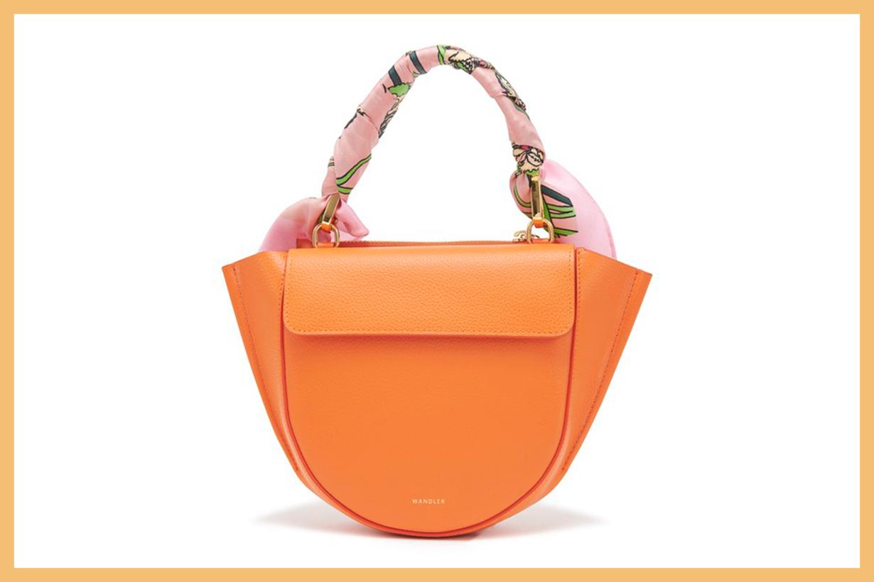 WANDLER Hortensia mini bag with scarf