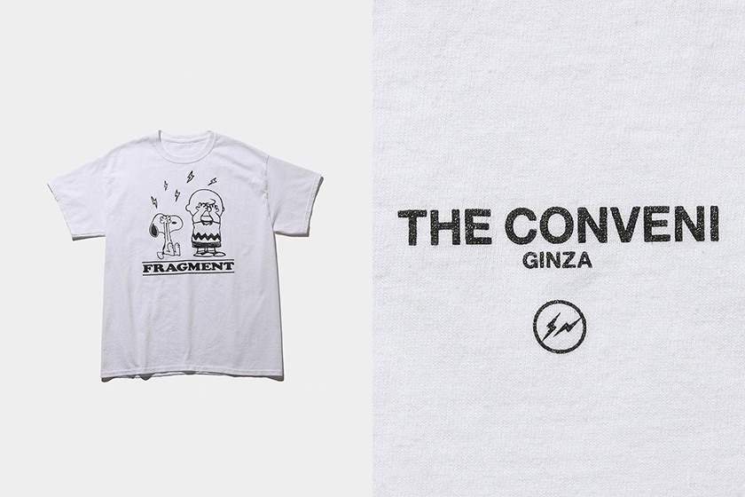 THE CONVENI fragment design PEANUTS Snoopy Collaboration