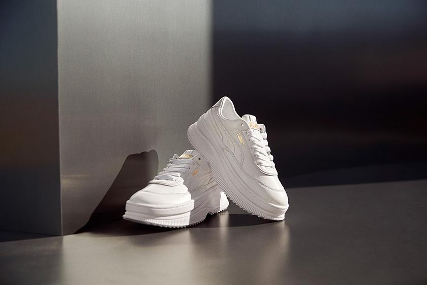 PUMA Deva Platform White Sneaker Cara Delevingne