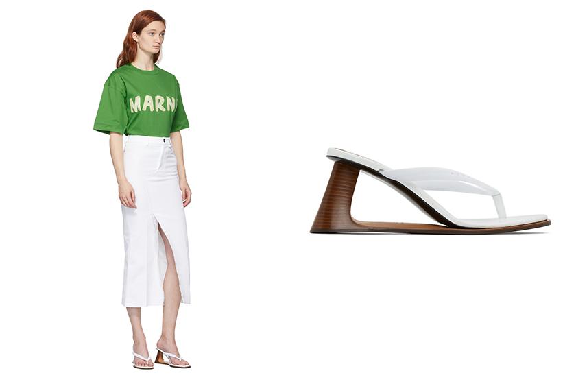 Flip Flops 2020 Summer Outfit Shoe Trends SSENSE
