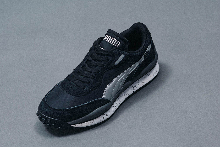 Puma Billys Style Rider Japanese Style Collaboration Sneakers
