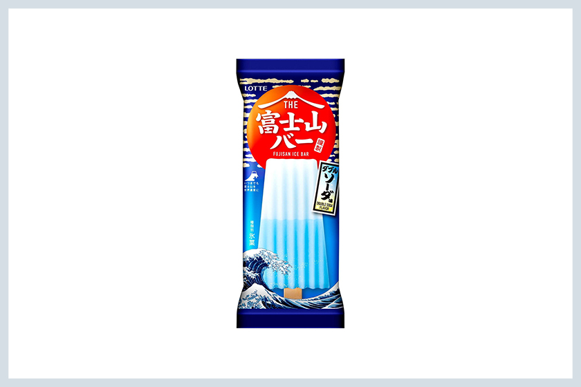Lotte Fujisan Ice Bar popsicles