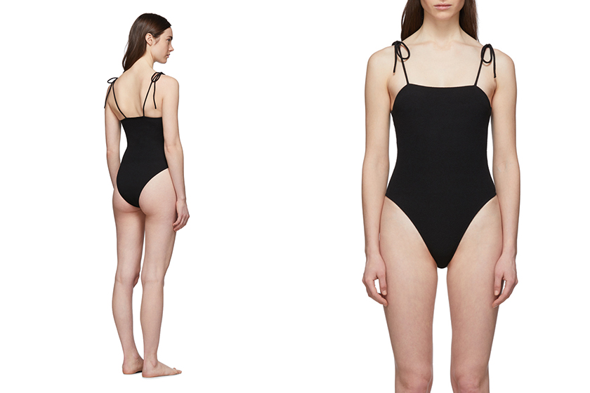 One-piece Swimsuit for Summer vacation 2020 SSENSE
