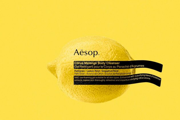 aesop citrus melange body cleanser 2020 new