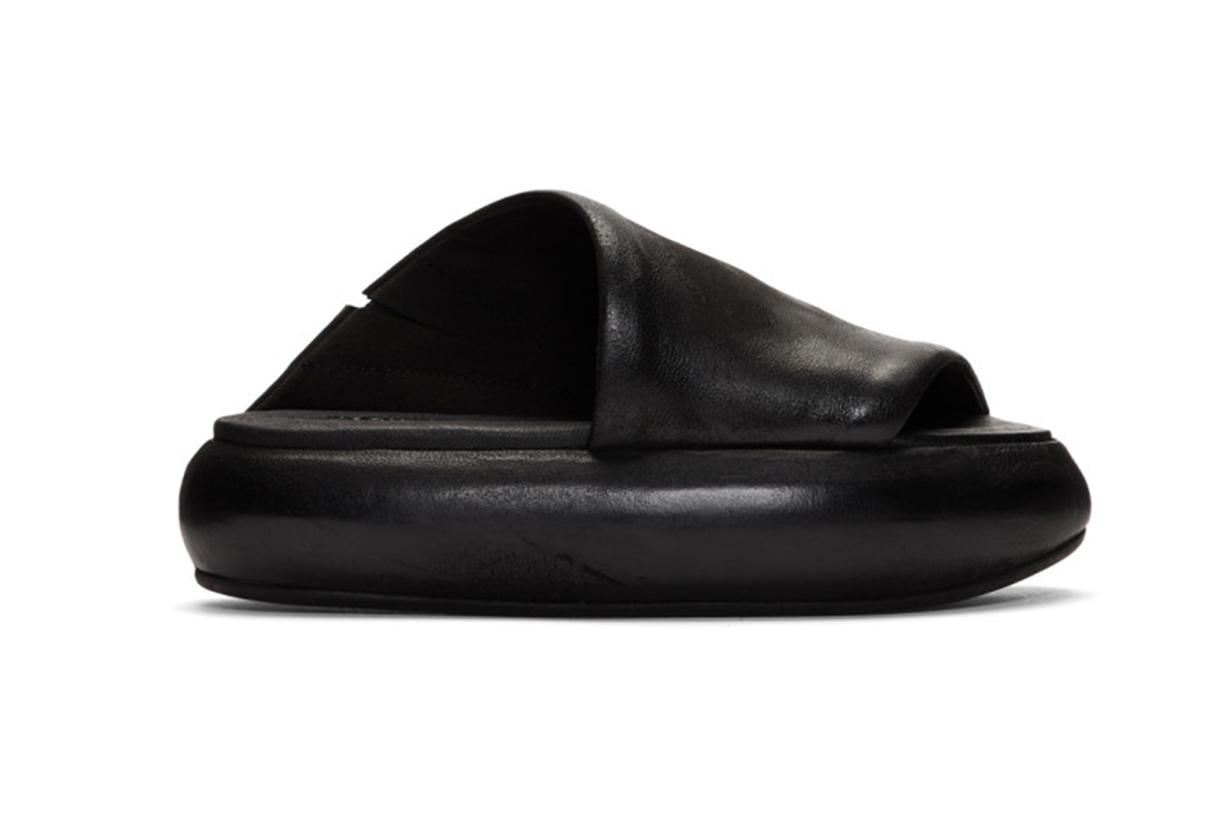 Black Ciambellona Sandals