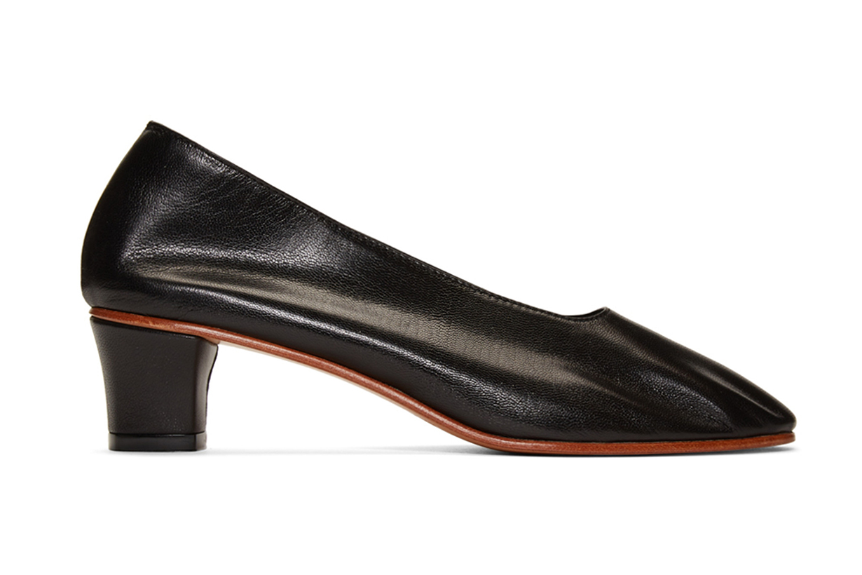 Black High Glove Heels