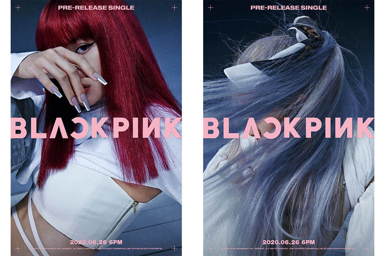 BLACKPINK Jisoo Jennie Lisa Rose YG Entertainment 26 June 2020 Comeback Dior Korean idols celebrities singers girl bands