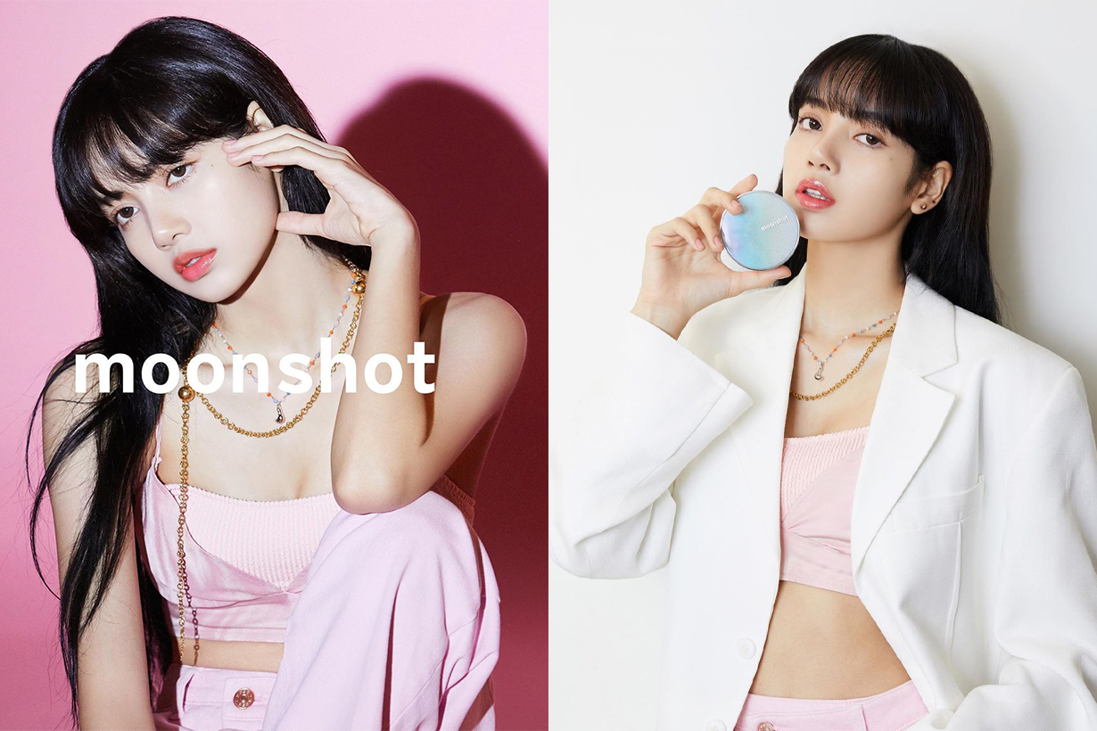 BLACKPINK Lisa Jennie Jisoo Rose Moonshot Advertisement Campaign shooting S_S.IL Korean brands jewelry necklace sold out korean idols celebrities singers girl bands