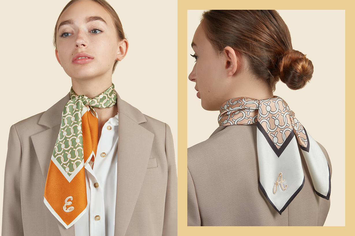 Summer Silk Scarf Inspiration