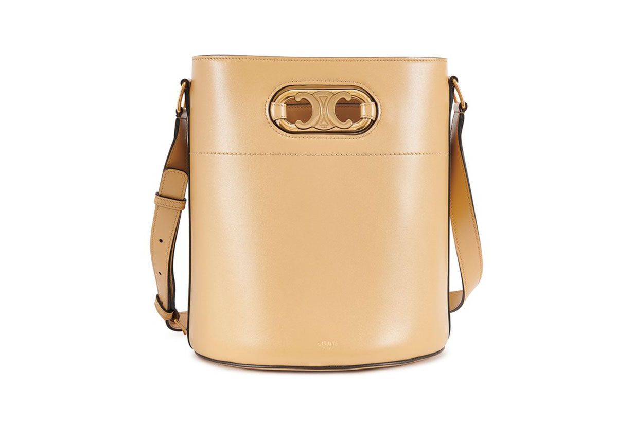 CELINE Maillon Triomphe Bucket bag