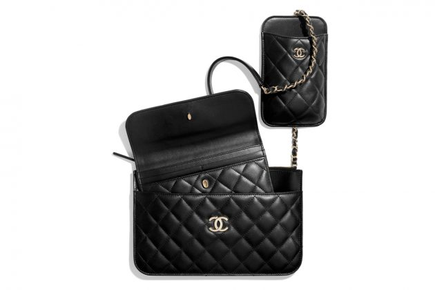 chanel clutch with chain 2020 summer new 3 bags