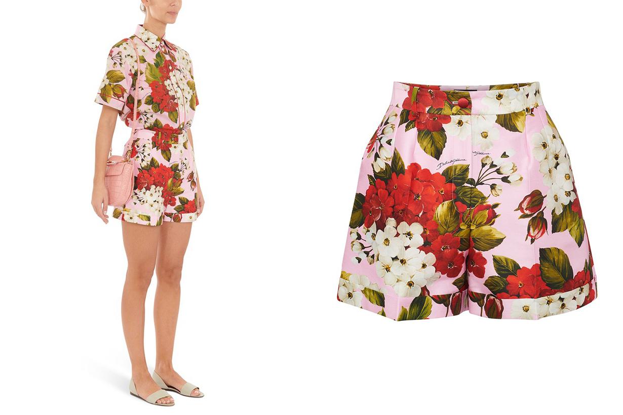 DOLCE & GABBANA Printed shorts