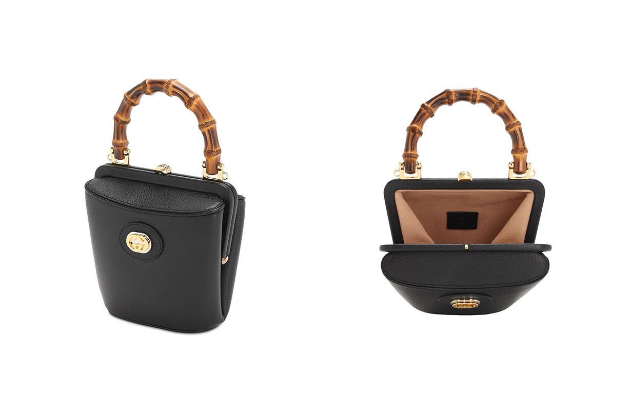 gucci pre fall 2020 mini marina bucket bag handbags