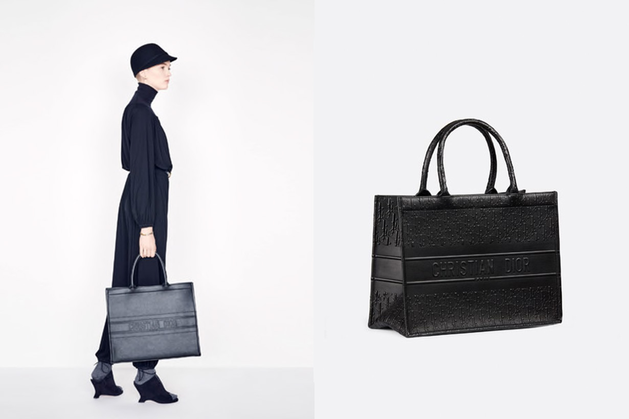 Dior Book Tote black handbags 2020