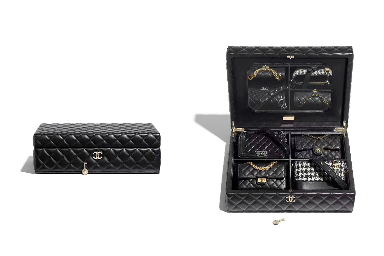 Chanel Métier's d'Art Trunk Set Chanel Classic Chanel 2.55 Boy Chanel Gabrielle handbags