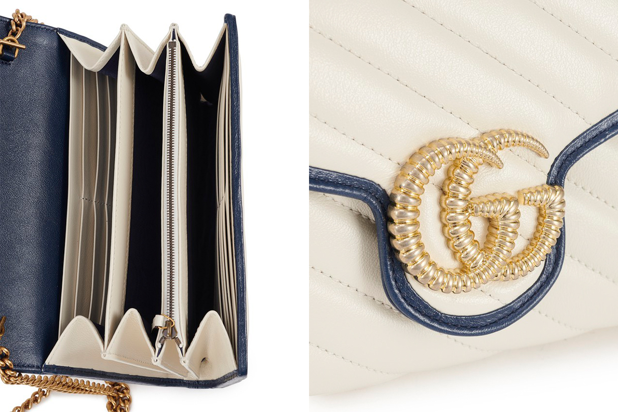 Gucci Bag Interior