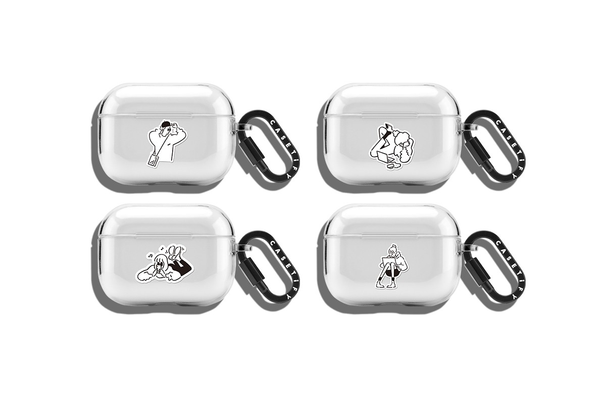 CASETiFY x Yu Nagaba collaboration iPhone Airpods case