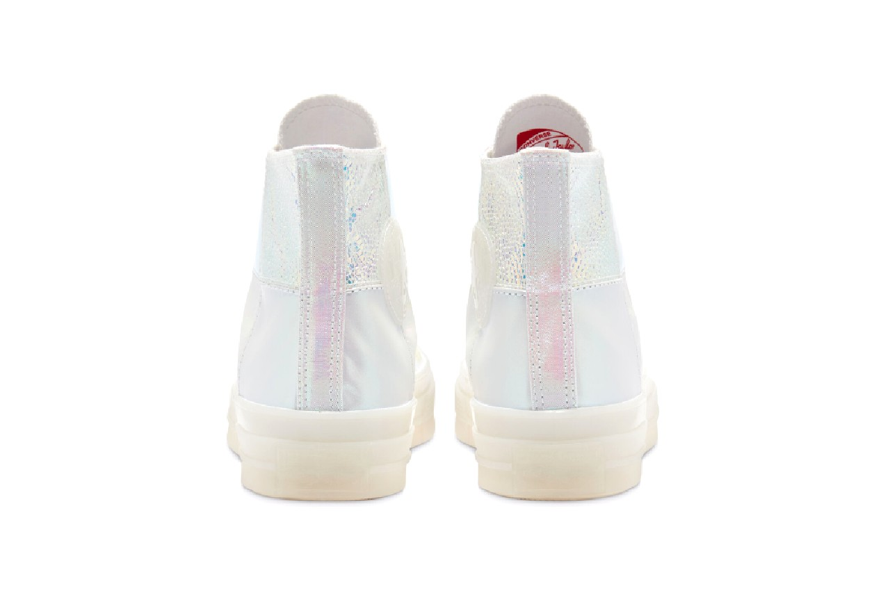 converse chuck 70 iridescent ss20 sneakers shoes metallic release
