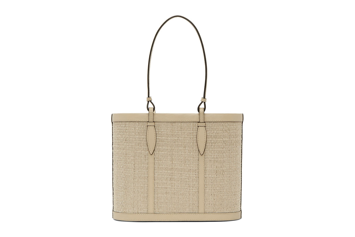 Hunting Season Beige Basket Bag