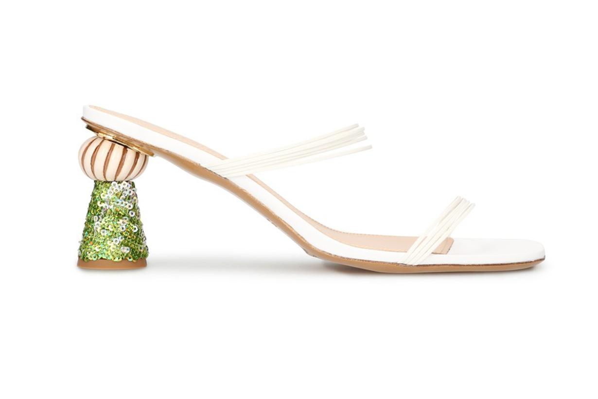 JACQUEMUS Vallena mules with heels