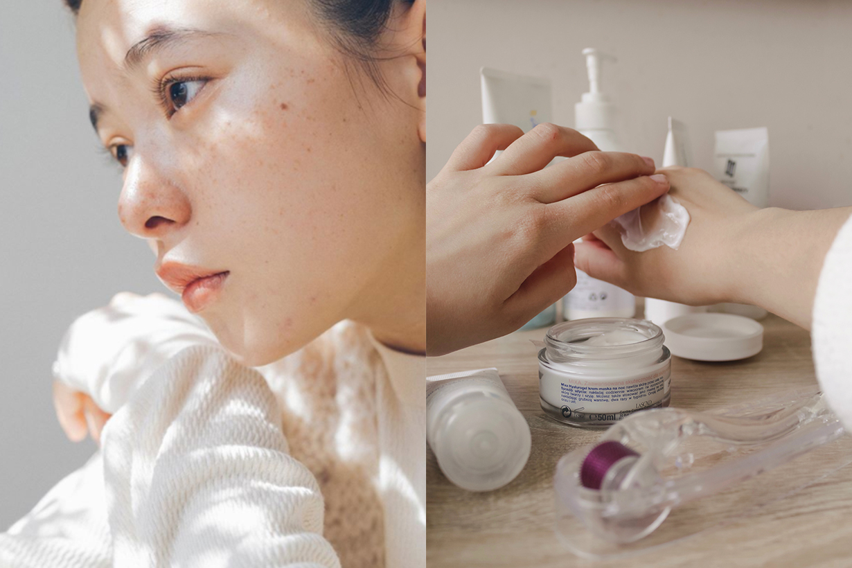 Japanese Girl Whitening Skincare