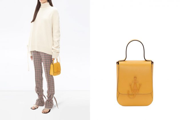 jw anderson anchor bag top handle 2020 new small