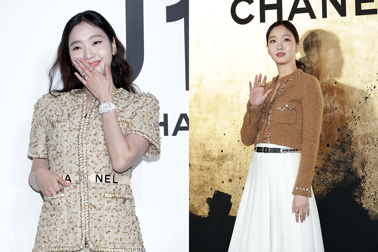"South Korean actress Kim Go-Eun, watch detail, attends the photocall for CHANEL ""The New J12"" launch event on May 08, 2019 in Seoul, South Korea."