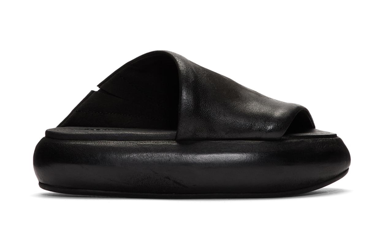 Marsèll Black Ciambellona Sandals