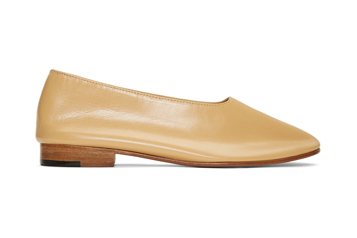 Tan Glove Loafers