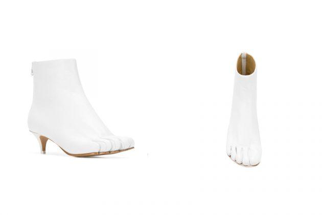 mm6 maison margiela tabi Stivaletto boots