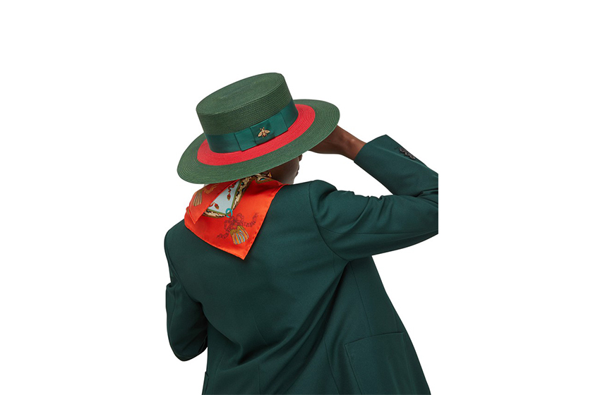 Luxury brand hat