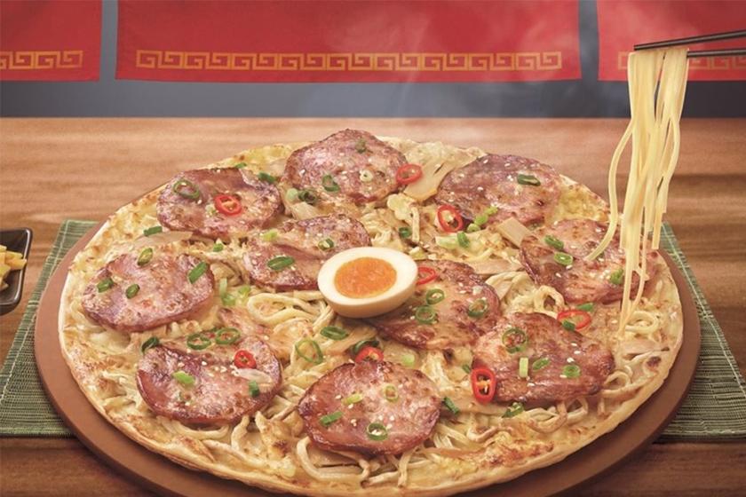 ramen pizza pizza hut menya musashi taiwan