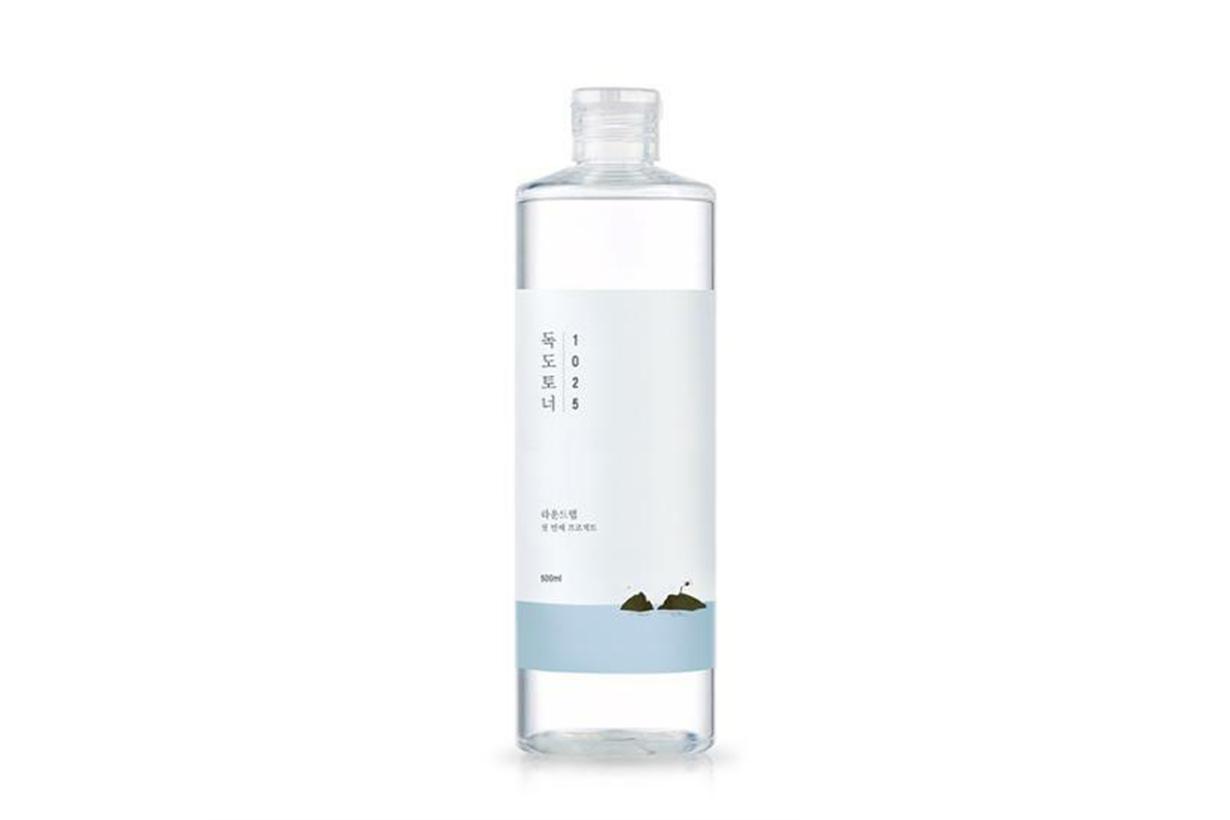 Round Lab 1025 DOKDO TONER Cleanser Exfoliate Water Oil Balance Korean Skincare Korean Girls