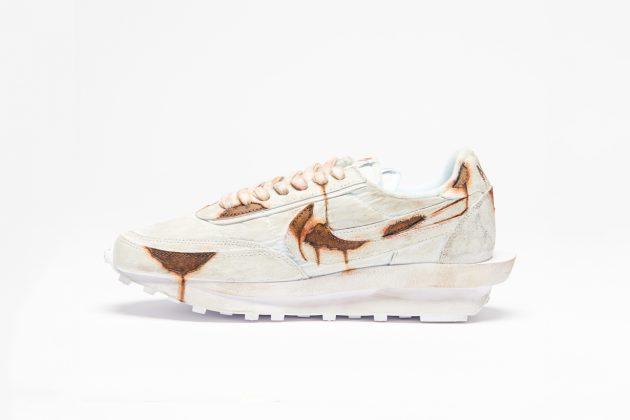 sacai nike stureet rust 30 pairs limited