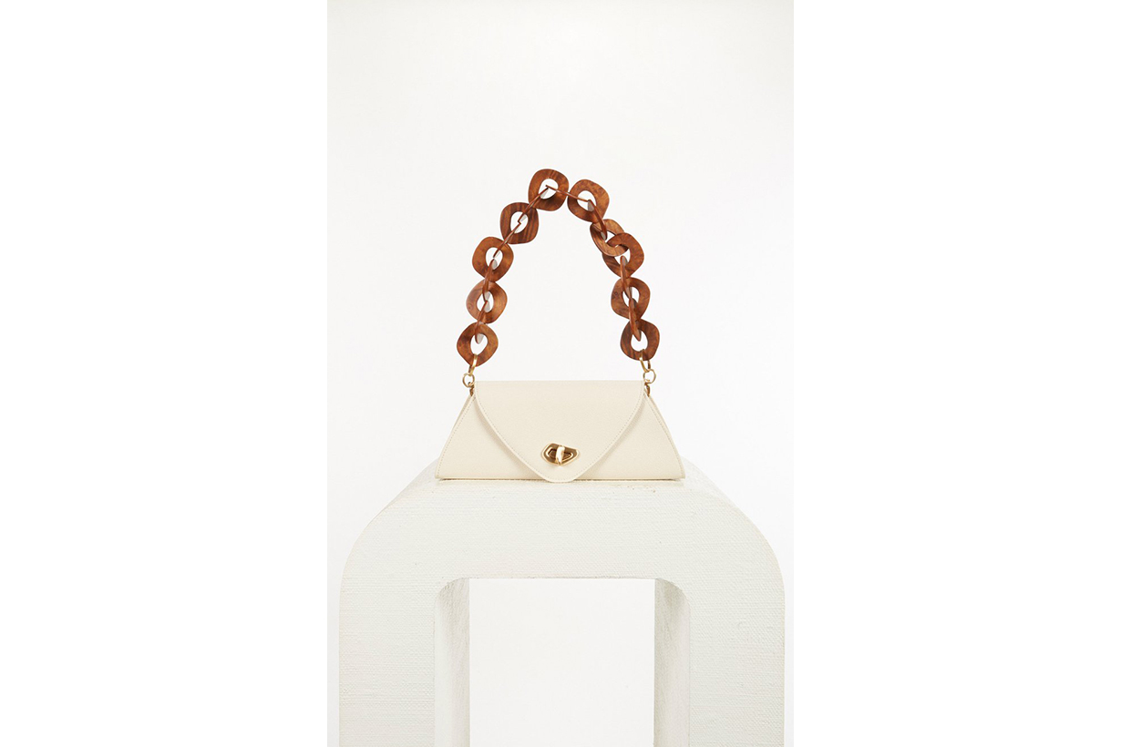 Serena Embellished Leather Shoulder Bag