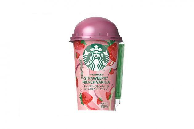 starbucks japan strawberry french vanilla 2020 family mart