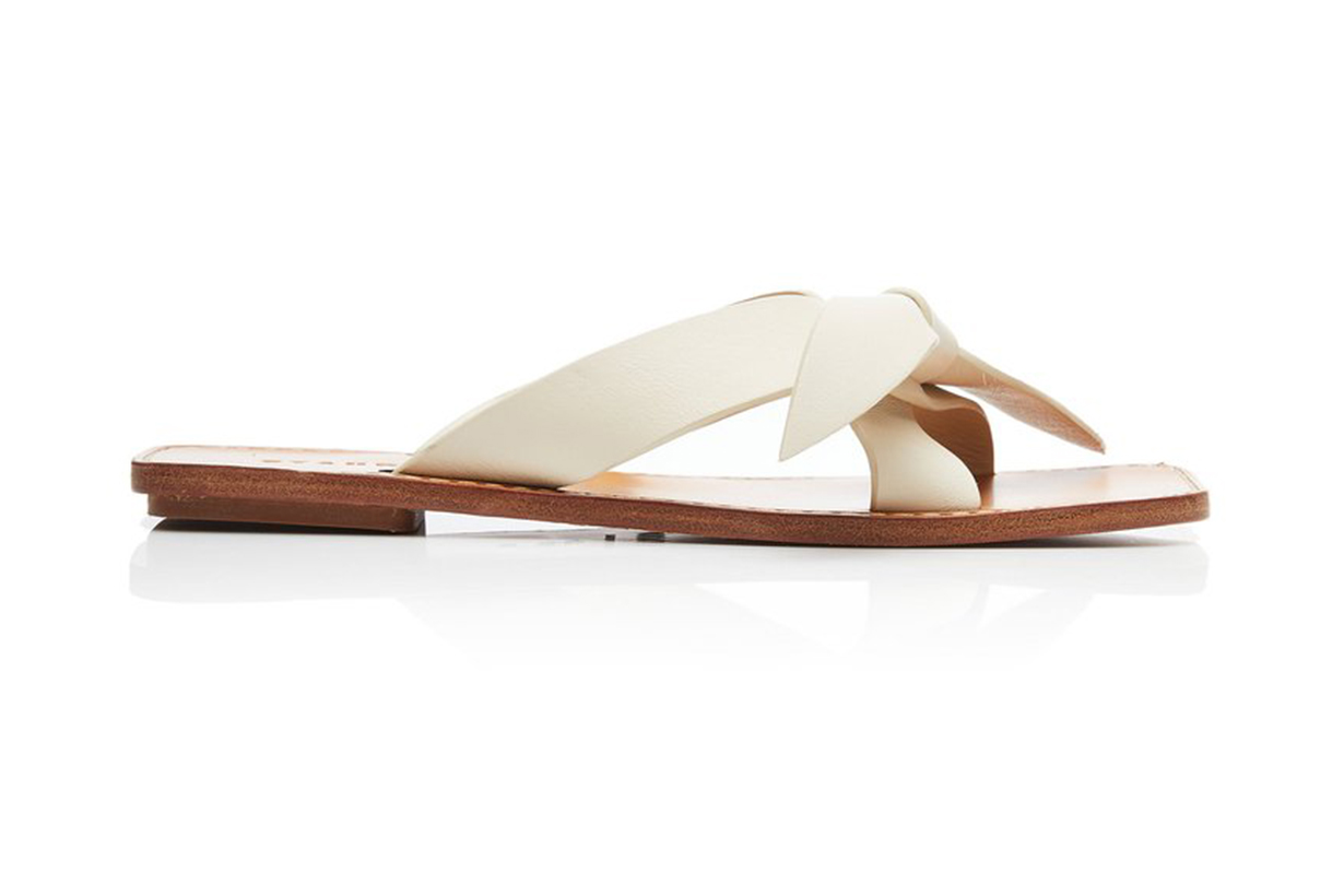 Staud Lei Leather Sandals
