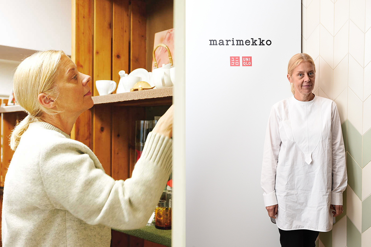 marimekko rebekka bay uniqlo gu artistic director