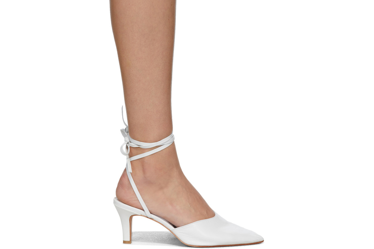 White Party Heels