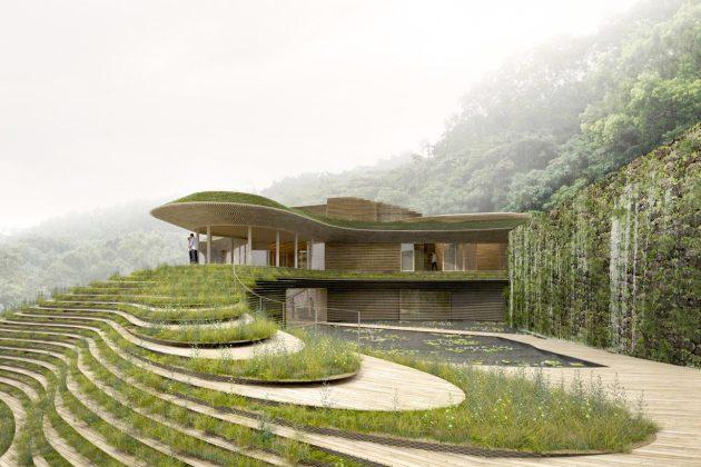 wuma six sense taitung taiwan kengo kuma resort spa 2021