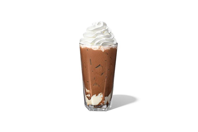 Starbucks Almond Tofu Chocolate Latte